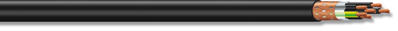 DATAFLEX YCY RC4V-K 300/500V - 0,6/1KV